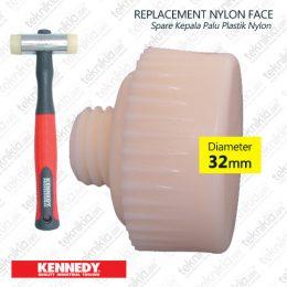 tkk529-3040-kennedy-kepala-palu-hard-nylon-hammer-32-mm