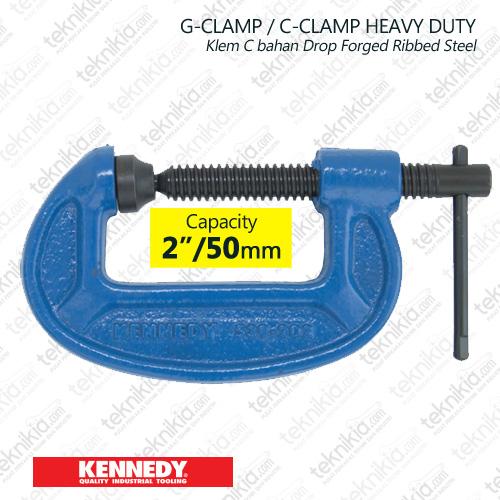 "Kennedy 2/"" Welded Pressed Steel Clamp"