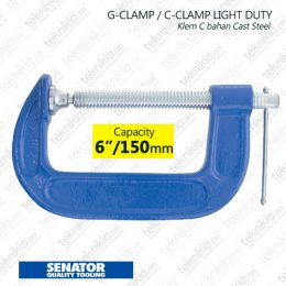 tse539-1060-senator-c-clamp-light-duty-150mm